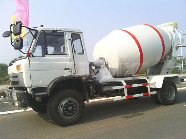 10m³ concrete mixer truck