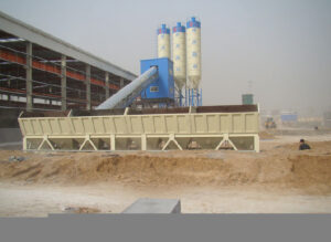 HZS120 Concrete Batching Plant in UAE