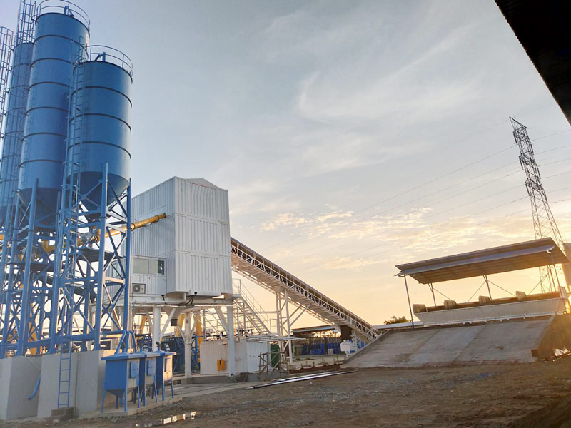 AIMIX-belt-type-modular-concrete-batching-plant