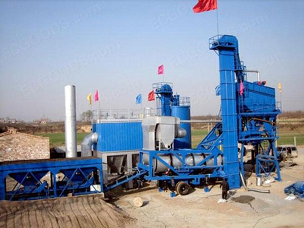 AImix asphalt plant in Ukraine