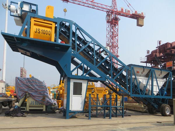 mobile small concrete batching plant for sale