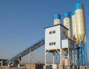 HZS90 Concrete Batching Plant for Road Construction in Philippines