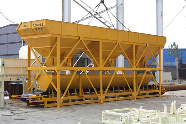 aggregate batching machine