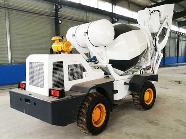 1.2cbm mobile concrete mixer