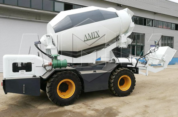 2.0cbm mobile concrete mixer