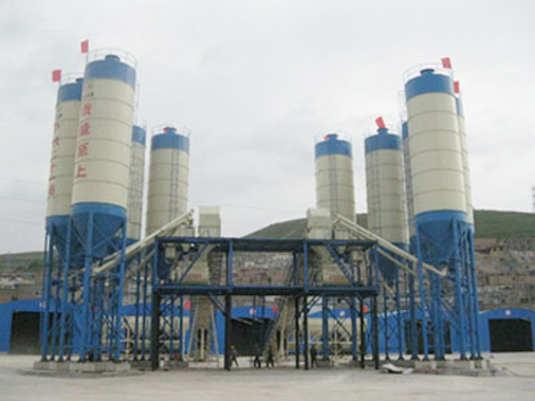 2AJ75 Central Mix Concrete Plant
