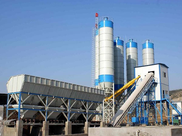 AJ120 ready mix concrete plant for sale