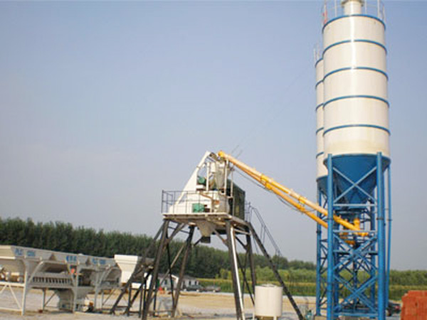 HZS25 Central Mix Concrete Plant