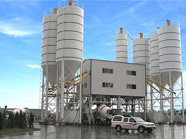 AJ35 small concrete batching plant for sale