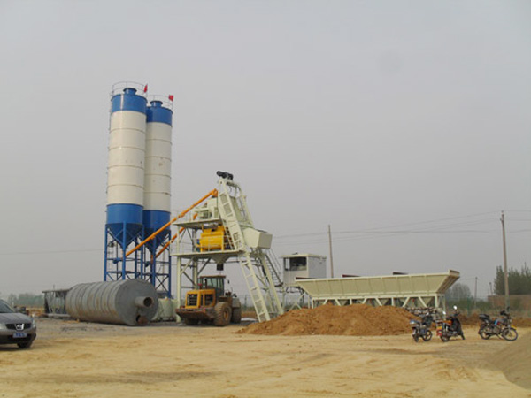 AJ50 small concrete batching plant for sale