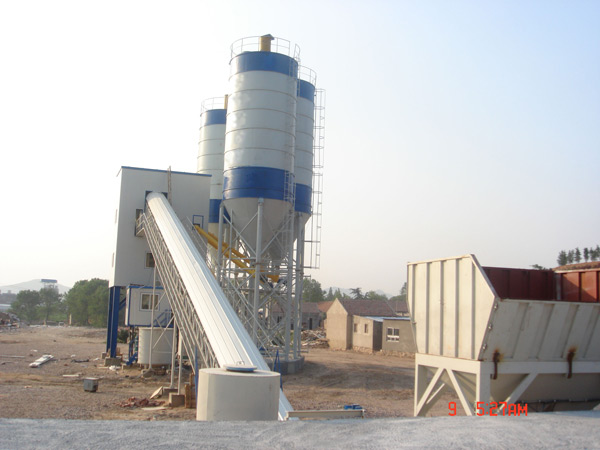 HZS90 Central Mix Concrete Plant