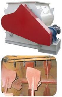 Double-shaft mixer-parts