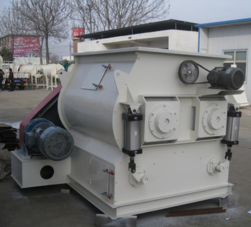 Double-shaft mixer