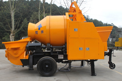 30m3 electric mixer pump