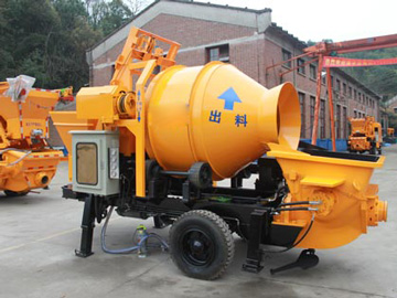 40m3 electric mixer pump