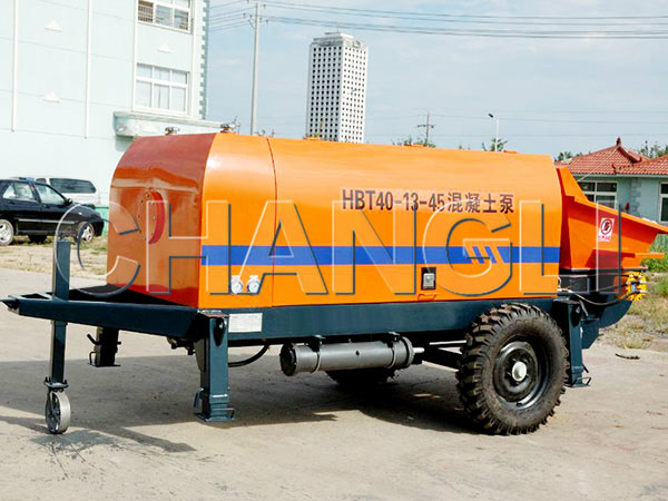 HBT-40 small concrete pumps