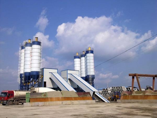 AJ60 ready mix concrete plant for sale