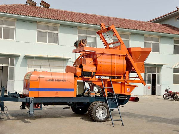 ABJS40D concrete mixer pump