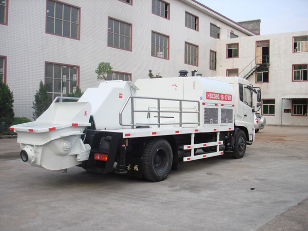 Electric Concrete Pump Diesel Concrete Pump Small Concrete