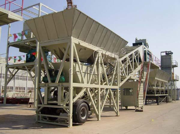 portable concrete batching plant picture