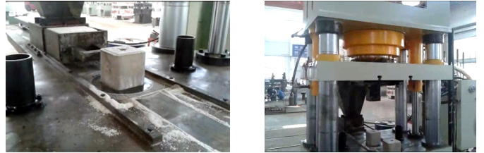 Salt licking hydraulic machine