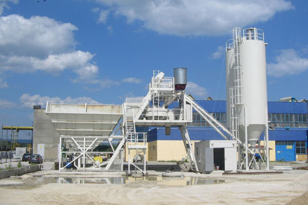 Cement Batching Plant : Installation method of the main components skip hoist