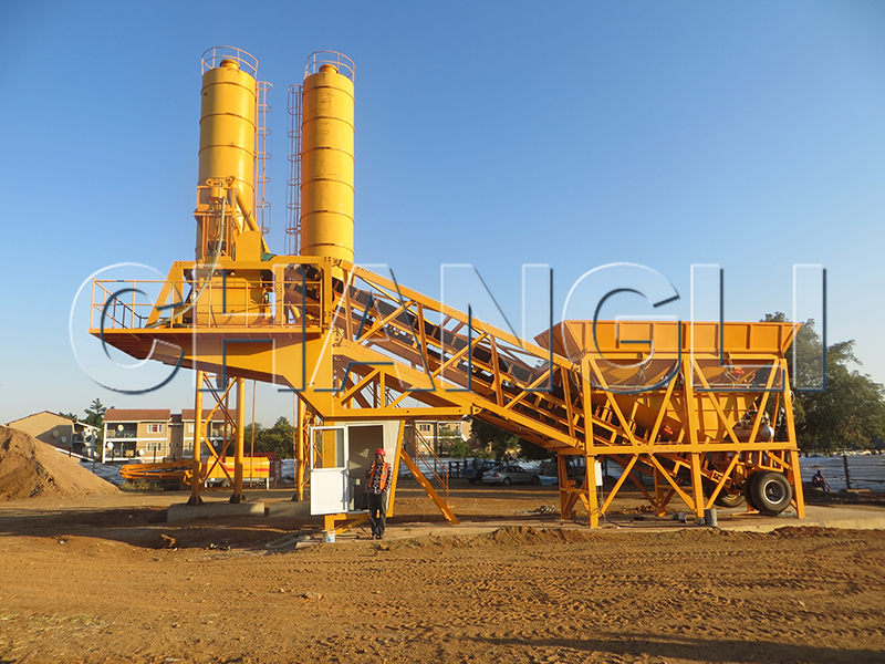 batching plant in Botswana