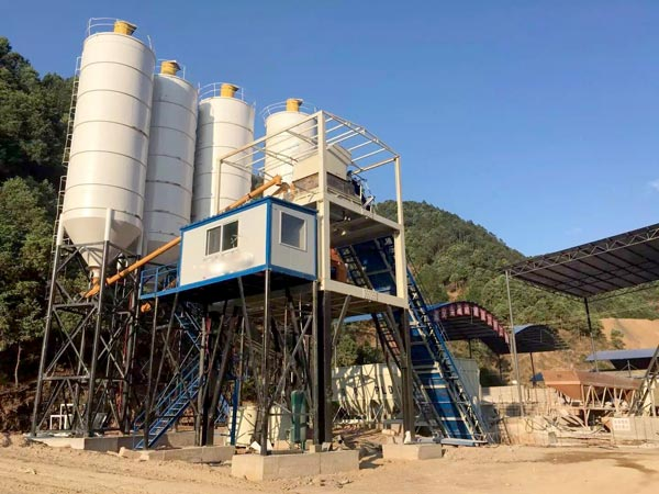 AJ25 precast concrete plant for sale