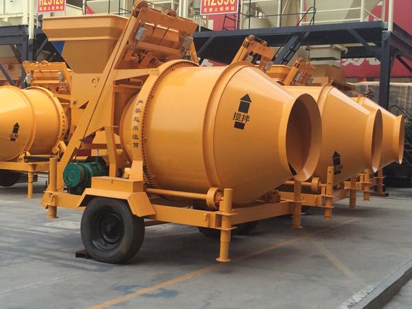 JZC500 electric concrete mixer