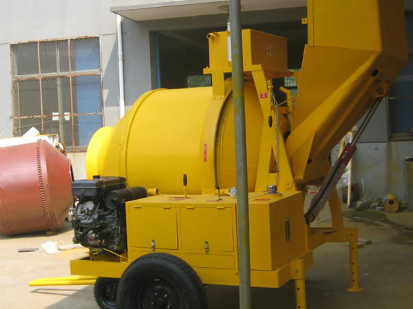 JZR500 diesel concrete mixer