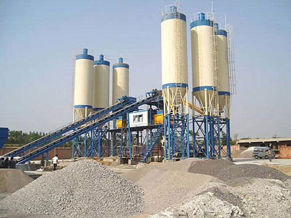 poject concrete batching plant