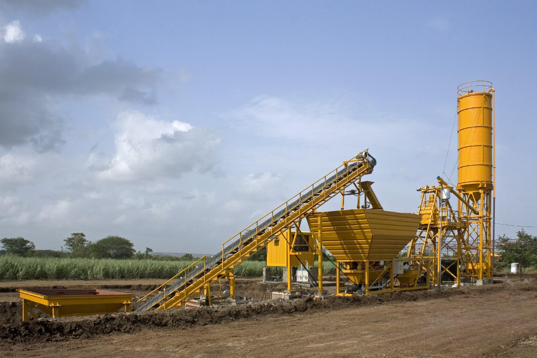 Material Conveying Equipment For The Small Concrete