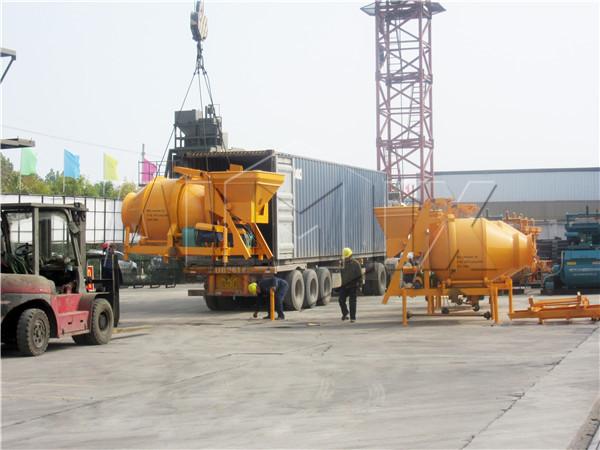AIMIX JZC concrete mixer exported