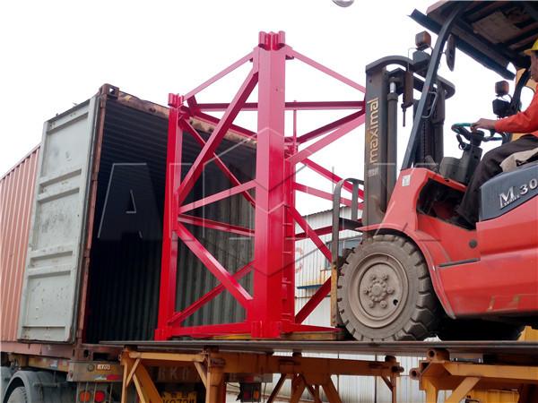 Aimix tower crane to Algeria