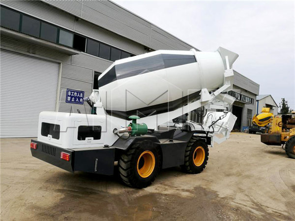 self loading concrete mixer to Mauritius