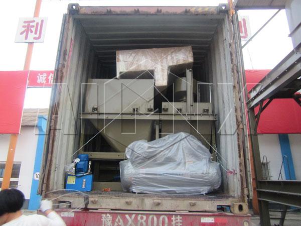 Aimix HZS60 concrete plant to Uzbekistan