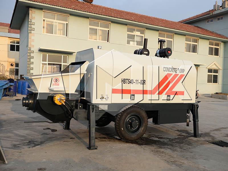 HBT40 diesel concrete pump
