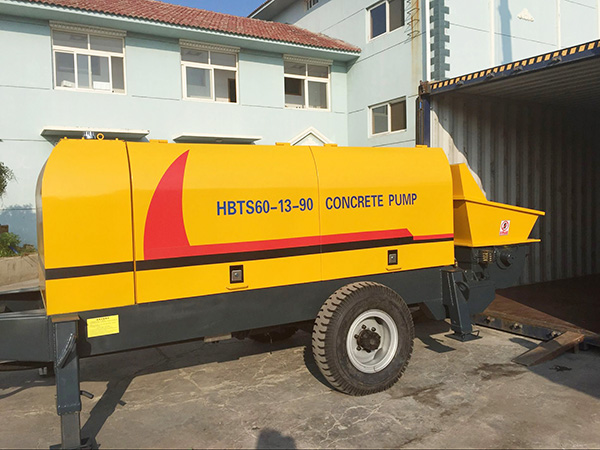 HBTS60 trailer concrete pump