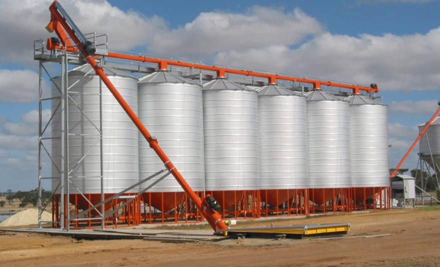 aimix grain silo for sale