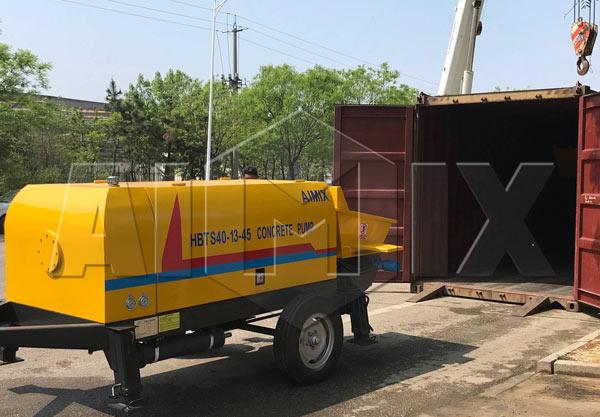 Aimix pump exported