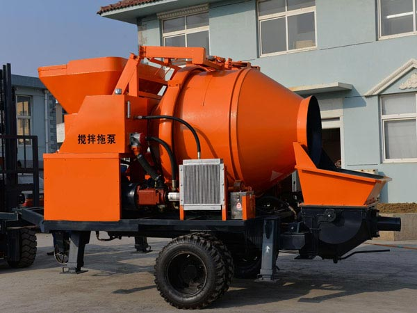 40m3 electric concrete mixer pump