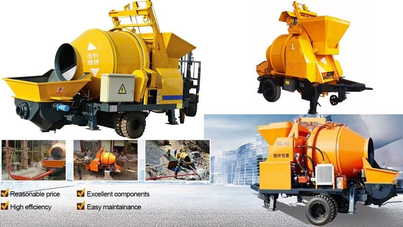 advantages of aimix concrete pump