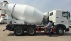 10m³ transit concrete mixer