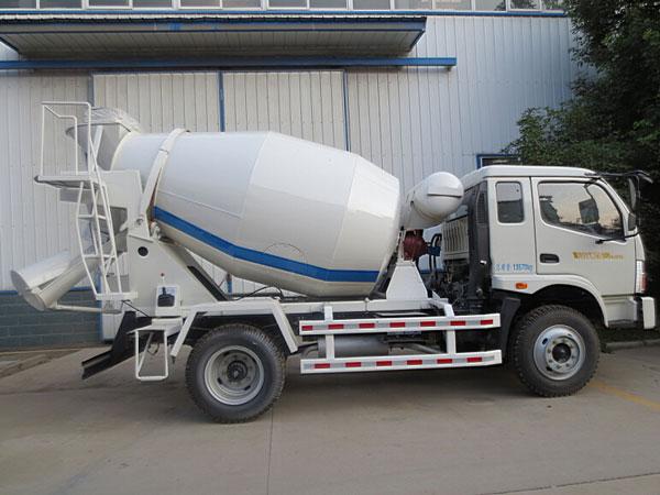 9m³ transit concrete mixer