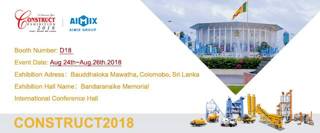 Aimix attends 2018 construct exhibition