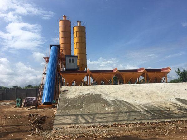 Aimix concrete plant in Sri Lanka 1