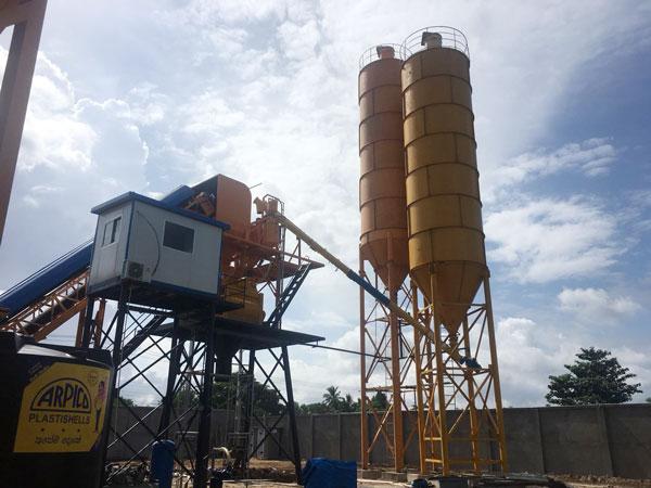 Aimix concrete plant in Sri Lanka 2