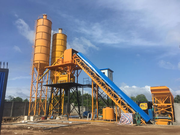 AJ60 small concrete batching plant for sale