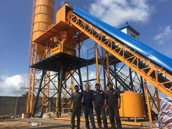 Aimix concrete plant in Sri Lanka 4