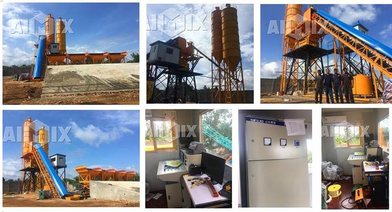 Aimix concrete plant in Sri Lanka 5